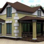 Кирпичный дом с террасой, г. Смоленск - 160kvm.ru